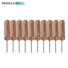 10PCS 433MHZ 2.2dBi 35mm Helical Antenna for Arduino Remote Control(China)