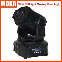 New Arrival led moving head spot 90w DMX 14 Channel Gobo beam moving head led wash Focus 3 Facet Prism Effect 90V-240V(China)