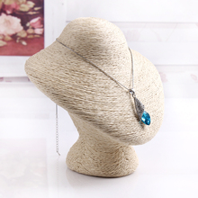 Practical PVC Material  Bracelet Small Display Pedestal Jewelry Chain Stand Holder Bust Just 17cm Wholesale