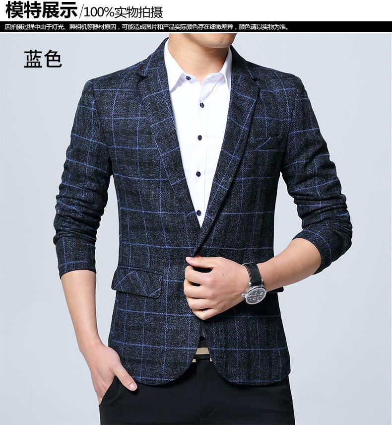 2019 Fashion 2018 Full Single Button Men S Leisure Suit Western Coat ... 0d73beb43