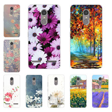 Buy lenovo k6 power case,Silicon Flower Plants Painting Soft TPU Back Cover lenovo k6 protect Phone shell for $1.49 in AliExpress store