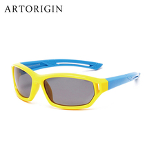 Rubber Polarized Sunglasses Kids Candy Color Flexible Boys Girls Sun Glasses Save Quality Eyewear Oculos