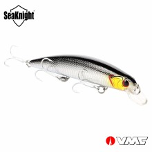 SeaKnight Minnow SK033 Fishing Lure Hard Bait 1PC 19g 13cm 0-1.5M Floating Fishing Lure VMC Hooks Big Minnow Carp Fishing Bait(China)