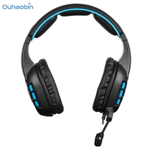 Ouhaobin Top Popular Headphone With Data Line Stereo Surround Gaming Headset Headband Mic High Grade Fashion Headphones Set5