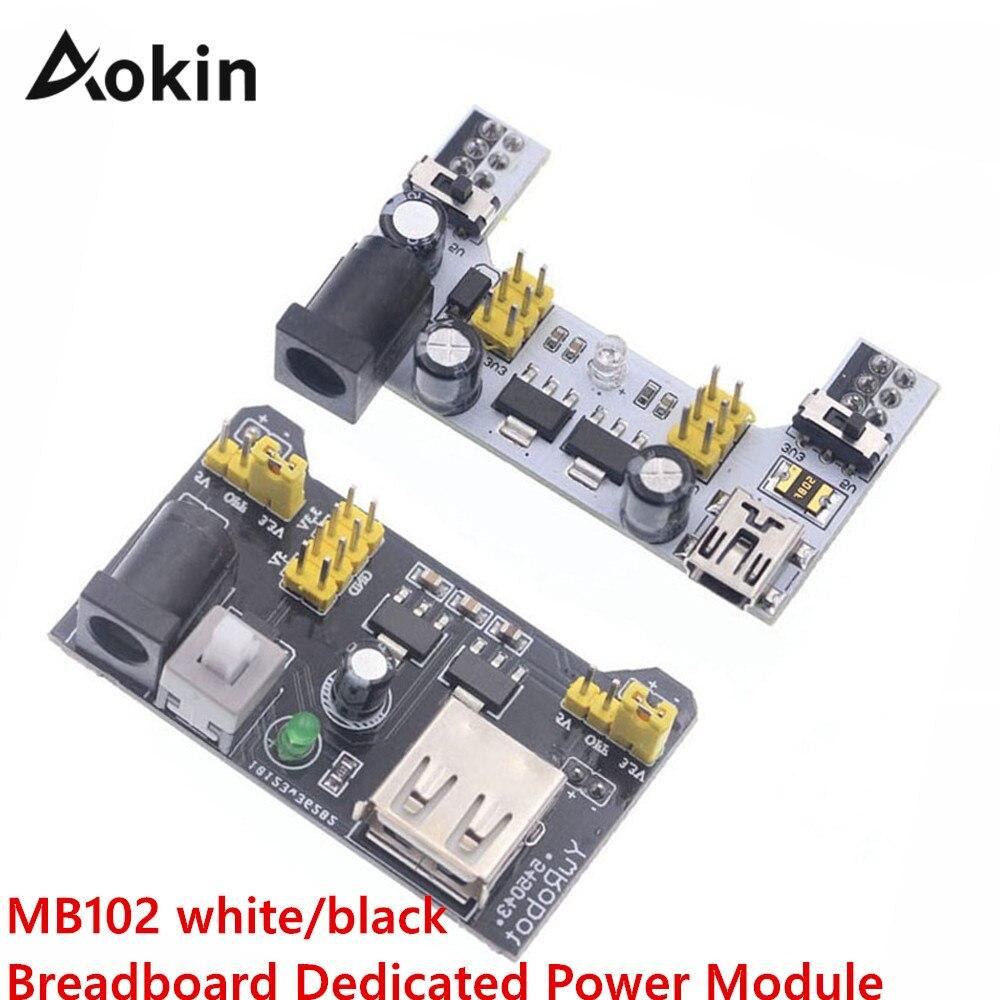 MB102 Breadboard Power Supply Module 3.3V 5V For Arduino Solderless Breadboard