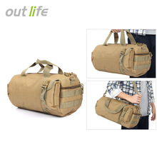 Buy 20L Nylon Outdoor Hand Shoulder Bag Camping Hiking Sport Bag Portable Molle Army Military Tactical Bag Large Capacity Sports Bag for $14.08 in AliExpress store
