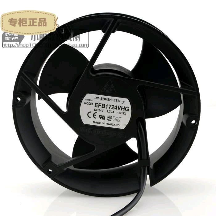 Free Delivery. 17050 17 cm inverter fan EFB1724VHG 24 v 1.7 A large air volume<br>