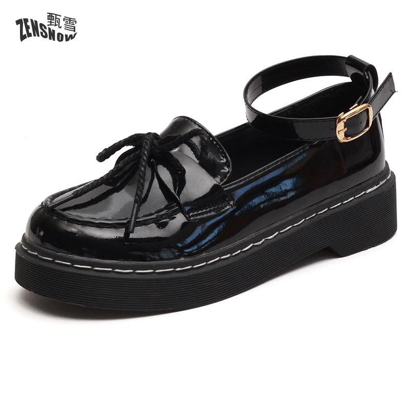 2017 New Shoes Soled All-match Autumn Student Retro<br>