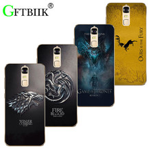 "Cute Cartoon Case For ZTE Blade A610 Plus 5.5"" Blade A2 Plus Soft Silicone Case Fashion Printed Football Cover Game of Thrones 7"