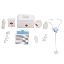 Free Shipping One Set Doll Accessories Toy medical kit Doll Pet Toys For barbie doll Baby Toys Best Christmas gift New Hot
