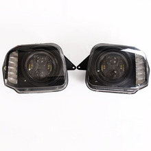 Car Styling For Suzuki Jimny JB43 Headlight Assembly Lens LED Head Lamp Lights Offroad Car Parts