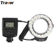 RF-600D Macro LED Ring Flash for Macro Shooting with 18pcs SMD super bright beads fit for Canon Nikon Panasonic Olympus Cameras