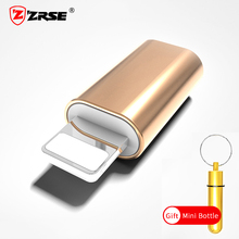 ZRSE Micro USB Adapter for iPhone Converter Charger Data Sync Charging Cable Adapter for iPhone Mobile Phone Adapters With Gift(China)