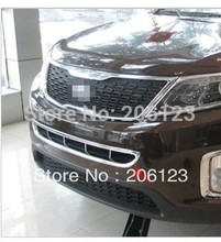 2013 Kia Sorento models in the new screen frame decorative frame Sorento Sorento grille grille trim strip light fast air ship