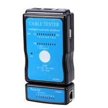 universal 2 Modes Cable Tester LAN Micro USB Standard RJ45 RJ11 RJ12 Network Ethernet for CAT5 Tester Main Unit Networking Tools(China)