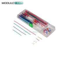 140 Pcs U Shape Shield Solderless Breadboard Jumper Cable Wires Kit for Arduino