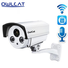 OwlCat Home Security IP Camera Wifi Wireless Mini Network Camera Audio Microphone Surveillance HD 1080P Night Vision CCTV Camera(China)