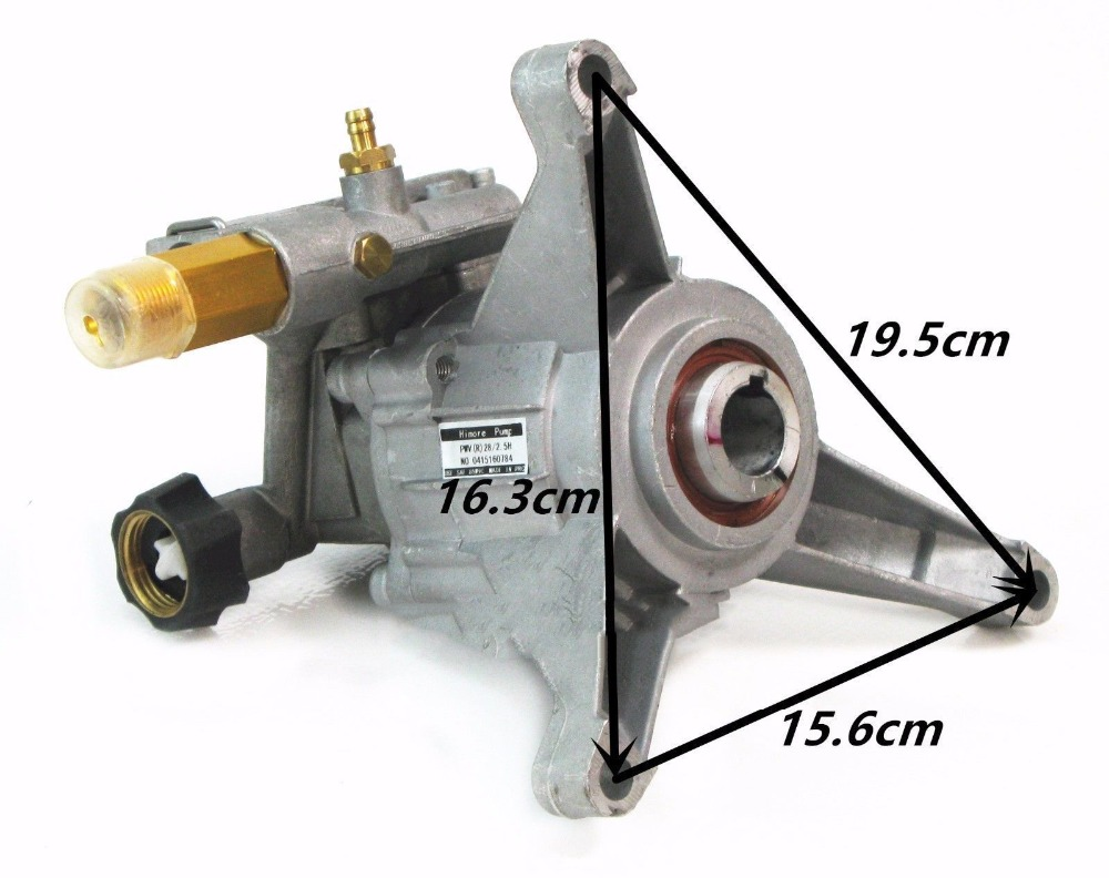 Power Pressure Washer Water Pump 2800PSI For Black Max BM80913 BM80919 PS80943