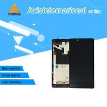 For Xiaomi Hongmi Note Redmi Note 3G or 4G Axisinternational LCD screen display+touch panel digitizer with frame   free shipping