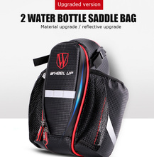 Wheel Up Mountain Tail Package Water Bags Double Kettle Road Vehicles, Mountain Bike All Can Be Hanging Tail Lights Wings Buckle(China)