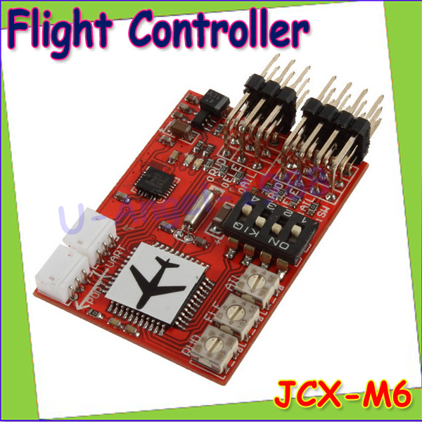 1pcs JCX-M6 M6 Flight Controller (Digital gyro) for RC Fixed-wing Airplane V-tail Model Plane FPV Wholdesal freeship<br><br>Aliexpress
