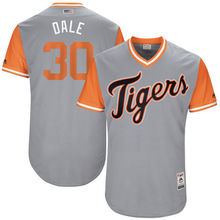 "MLB Men's Detroit Tigers Alex Wilson ""Dale"" Baseball Gray 2017 Players Weekend Authentic Jersey(China)"