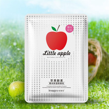 Images Natural Apple Extracts Facial Mask Wrapped Mask Moisturizing Oil Control Shrink Pores Mask Skin Care
