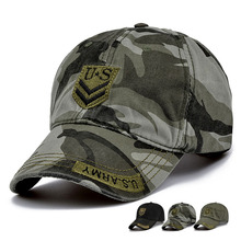 Tactical Baseball Caps Army Men's Cap Fashion Casual Sports Sun Hat Outdoor Combat Camouflage Camping Hat Adjustable(China)