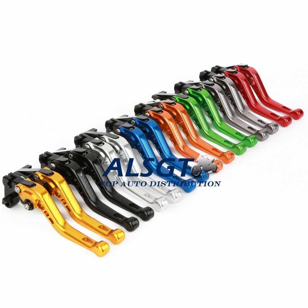 CNC Motorcycle AccessoriesFor TRIUMPH 675 STREET TRIPLE R/RX 2009-2017  3D Clutch Brake Lever Short Brake Clutch Lever Aluminum<br><br>Aliexpress