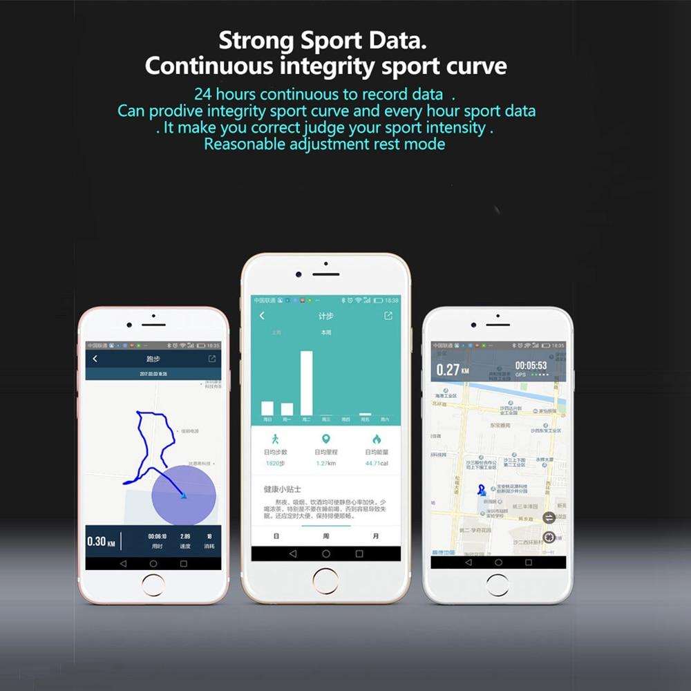 Betreasure BW14 Smart Wristband Blood Pressure/Blood Oxygen/Heart Rate Fitness Bracelet Activity Tracker Pedometer Smart Band