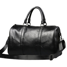 Fashion Men's Travel Bags pu luggage suitcase duffel bag Large Capacity Business Bags casual leather handbag PT1096