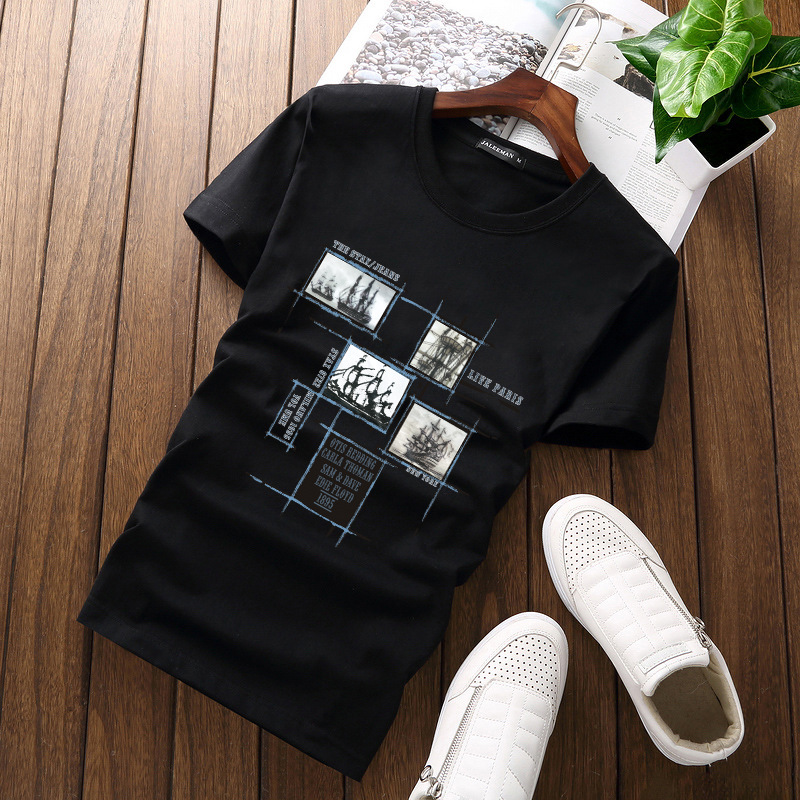 Jalee Man 18 Men's T-Shirts Plus Size 5XL Tee Shirt Homme Summer Short Sleeve Men T Shirts Male TShirts Camiseta Tshirt Homme 3