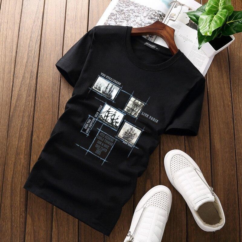 Jalee Man 18 Men's T-Shirts Plus Size 5XL Tee Shirt Homme Summer Short Sleeve Men T Shirts Male TShirts Camiseta Tshirt Homme 3