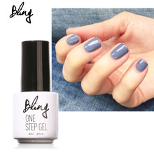 BILING One Step Nail Gel Polish 3 in 1 Gel Polish No Need Base Top Coat Manicure Varnish Lacquer