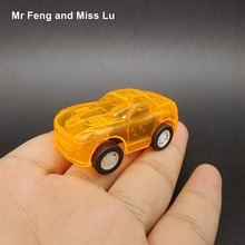 Orange Pull Back Car Toys For Baby Racing Game Mini Vehicle Kid(China)