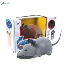 New exotic Two channel flocking remote control mouse We cheat creative mice The simulation mouse animal toy for children(China)