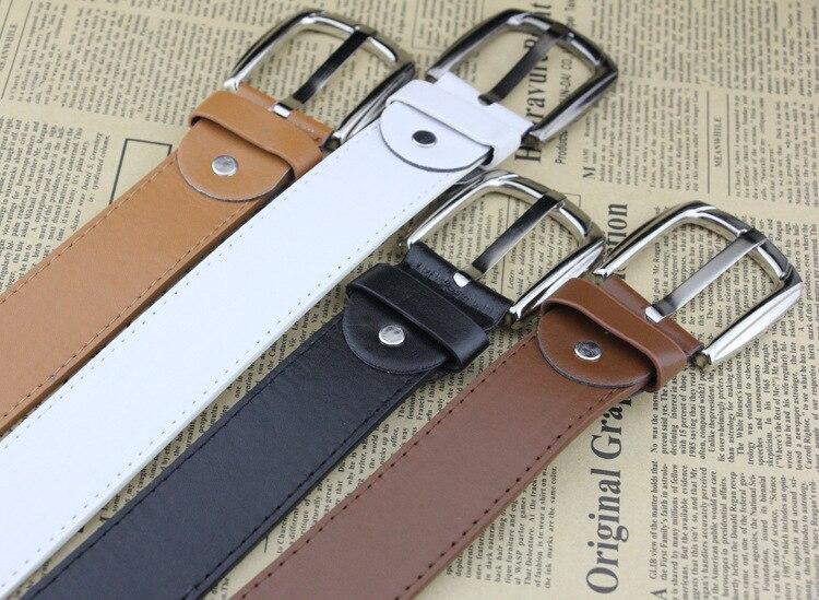 Korean Men's Belts Women's Belts Buckles Belts Metal Clothing Accessory