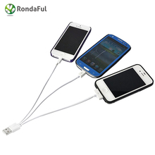 Universal 3 in 1 Charging Wire for Huawei Android Mobile Phone USB Charge Cable For iPhone 5 5s 6s 4s Samsung HTC Xiaomi