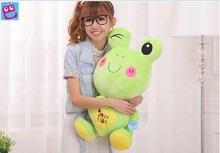 Stuffed animal 60cm lovely frog plush toy love you frog doll throw pillow gift w3769(China)