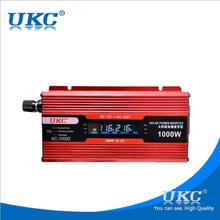 12v 220v 1000w solar inverter power inverter with usb port  modified sine wave with LCD red inverter hot sale 1000w LCD