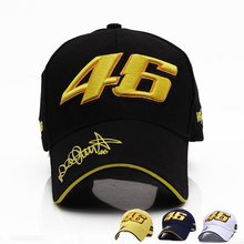 2016 New Design F1 Racing Cap Car Motocycle Racing MOTO GP VR 46 Rossi Embroidery Sport Hiphop Cotton Trucker Baseball Cap Hat
