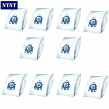 NTNT 10Pcs/Lot For Miele Type GN Deluxe Synthetic Vacuum & 4 Filters S2 S5 S8 C1 C3 Hepa Vacuum Cleaner DUST BAGS With FILTERS