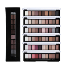 2017 New Fashion Eyeshadow Palette Makeup Glitter Eye Palette Maquiagem High Quality Matte 10 Color Pigment Eye Shadow Palette