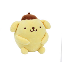 New 16cm Lovely Cartoon  Pom Pom Purin pudding dog plush coral  toy romantic gift Animal Shape Toys Home Decor Toy for Kids Gift