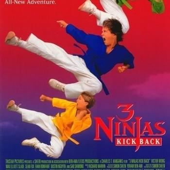 3 Ninjas Kick Back Movie Poster (11 x 17)
