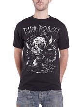 Papa Roach T Shirt Dare To Dream Band Logo Official Mens Black Cool T-Shirts Designs Best Selling Men 2018 Newest Fashion(China)