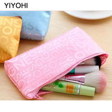 YIYOHI 2016 Hot Sale  Zipper Purse Keyring Bag Cute Cosmetic Bag Mini Bag Storage Bags Make Up Organizer