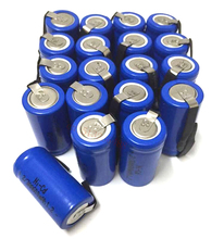 6pcs/lot AA Ni-Cd 1.2V 2/3AA 600mAH rechargeable battery NiCd charging Batteries - Blue Free Shipping