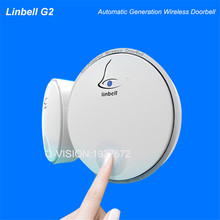 Linbell 32 Tunes Wireless Cordless Digital Waterproof Doorbell G2 Automatic Generation No Battery Control Distance 100m RF433MHZ