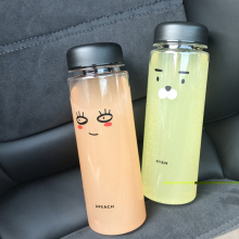 Best Quality My Fashion Breakproof Water Bottle 19 x 6cm Travel Camping Lemon Juice Drinkware Readily  Bottle 500ml